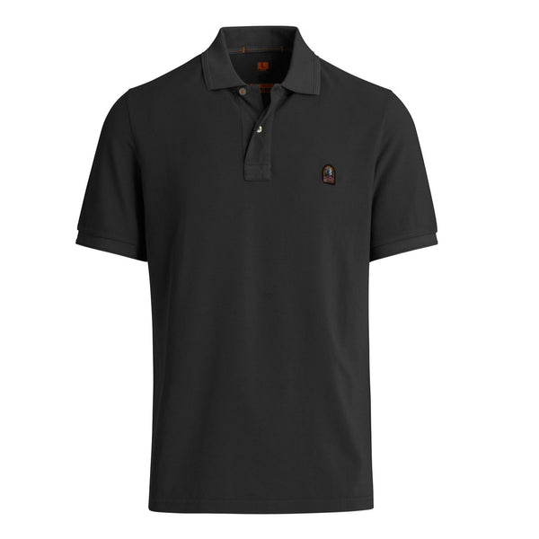 Parajumpers - Pikétröja - Patch Polo (541 Black) - Thernlunds
