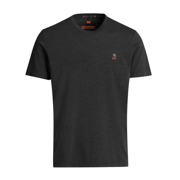 Parajumpers - T-shirt - Patch Tee (541 Black) - Thernlunds