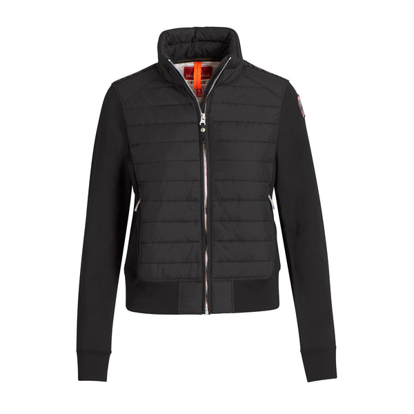 Parajumpers - Jacka - W Rosy Fleece & Puffer Jacket (541 Black) - Thernlunds