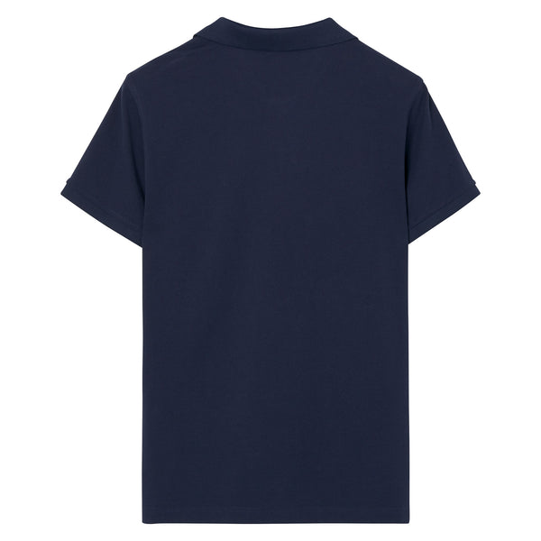 Gant - Pikétröja - The Original Pique SS Rugger (433 Evening Blue) - Thernlunds