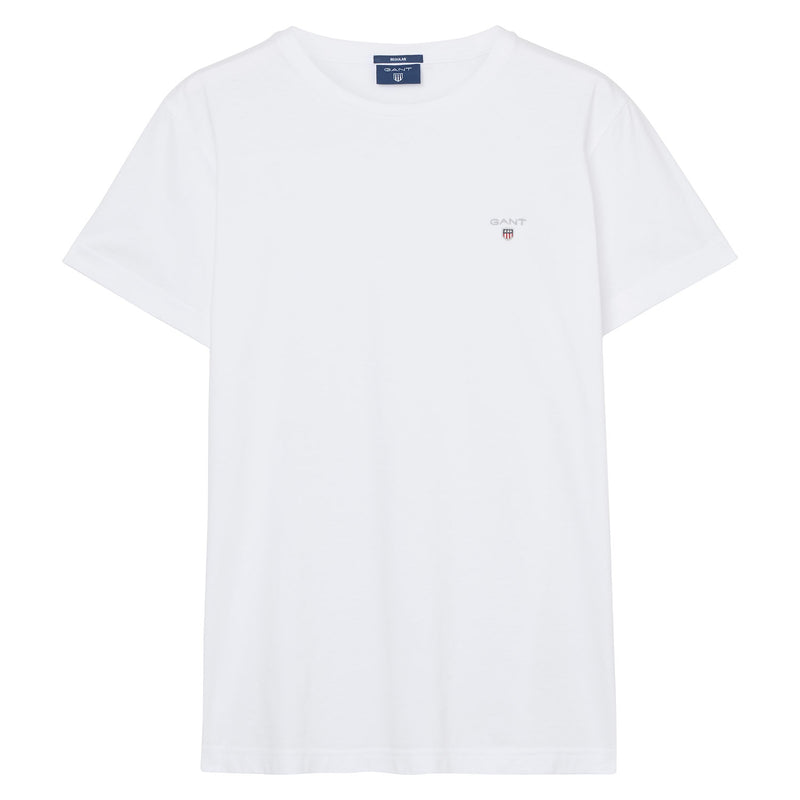 Gant - T-shirt - The Original SS T-Shirt (110 White) - Thernlunds