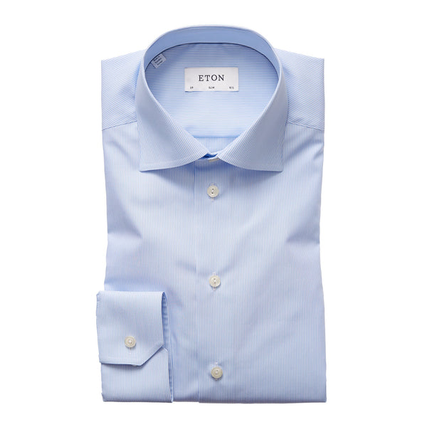 Signature Slim Shirt (23 Blue)