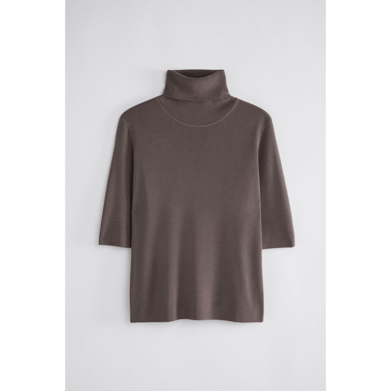 Filippa K - Topp - Merino Elbow Sleeve Top - Thernlunds