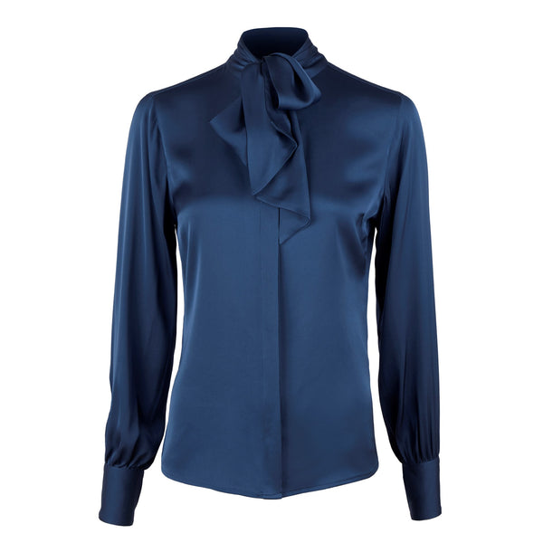 Stenströms - Blus - 2650272819 Selma Blouse (150 Blue) - Thernlunds