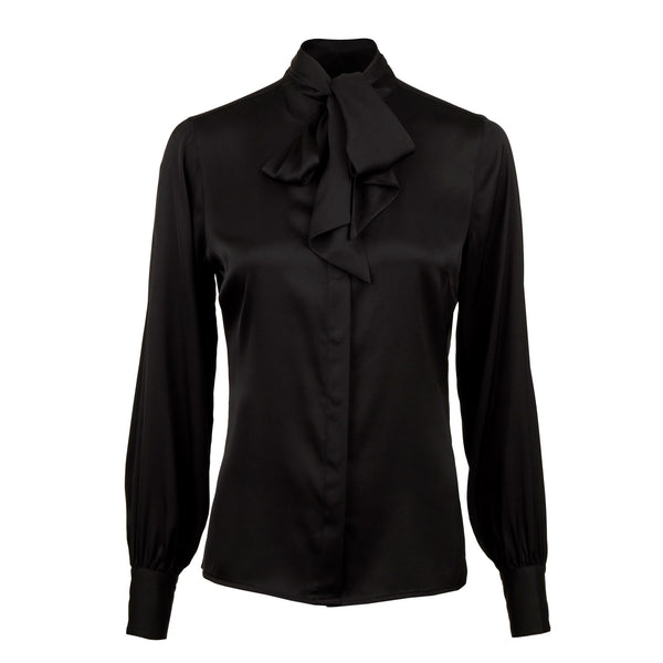 Stenströms - Blus - 2650272819 Selma Blouse (600 Black) - Thernlunds