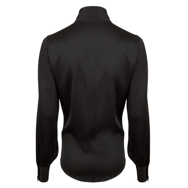 Stenströms - Blus - Selma Blouse (600 Black) - Thernlunds