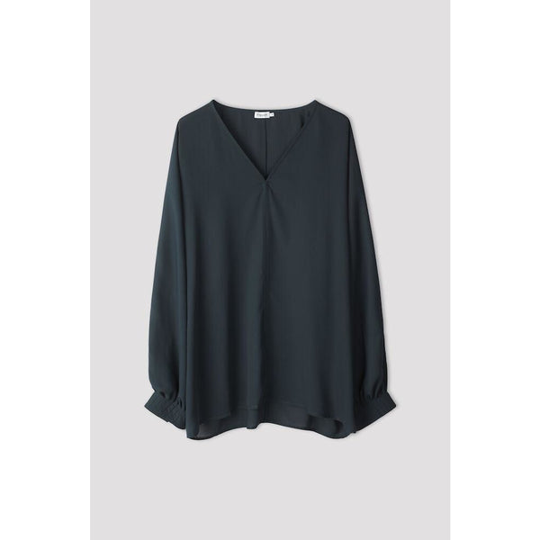 Filippa K - Blus - Riley Blouse (8908 Pacific Green) - Thernlunds