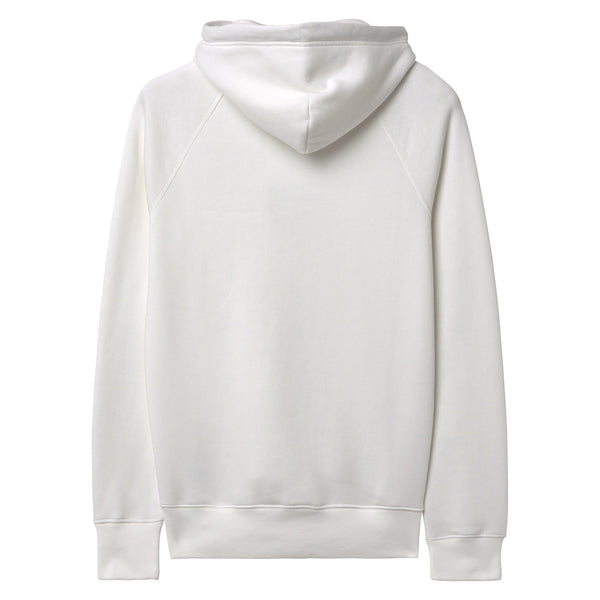 Gant - Tröja - Gant Shield Sweat Hoodie (113 Eggshell) - Thernlunds