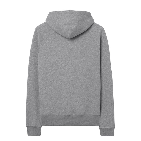 Gant - Tröja - Gant Shield Sweat Hoodie (93 Grey Melange) - Thernlunds