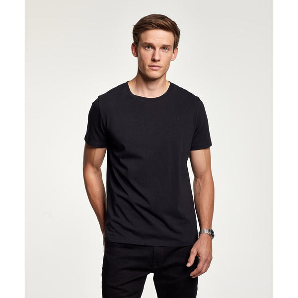 Morris - T-shirt - James Tee (99 Black) - Thernlunds