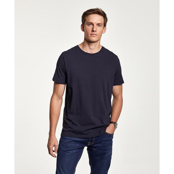 Morris - T-shirt - James Tee (59 Old Blue) - Thernlunds