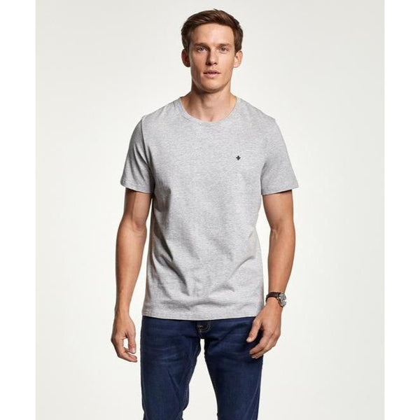 Morris - T-shirt - James Tee (91 Grey) - Thernlunds