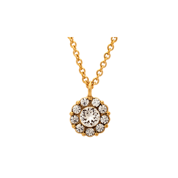 Petite Miss Sofia necklace (Crystal (Gold))