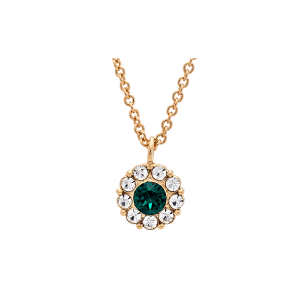 Petite Miss Sofia necklace (Emerald)