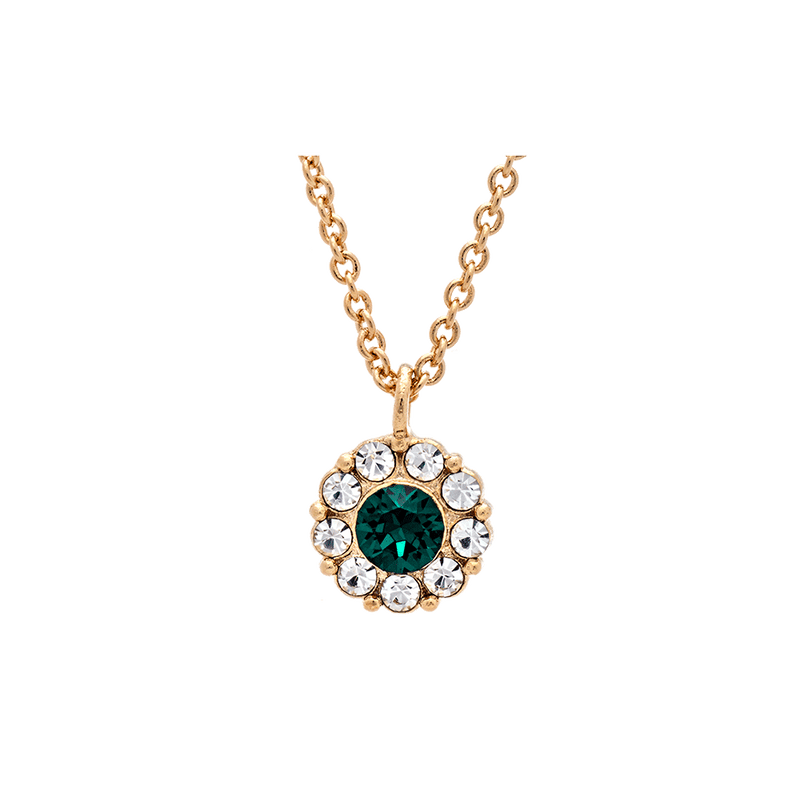 Lily & Rose - Smycken - Petite Miss Sofia necklace (Emerald) - Thernlunds