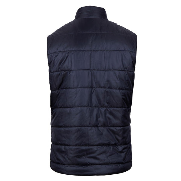 Stenströms - Väst - Quilted Vest,Houndstooth (191 Navy Pattern) - Thernlunds