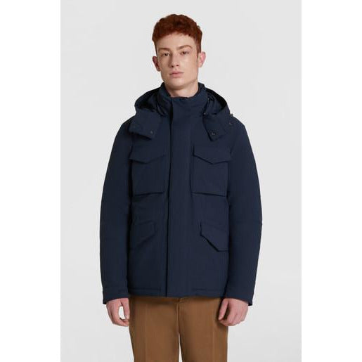 STRETCH MOUNTAIN FIELD JACKET (3989 Melton Blue)