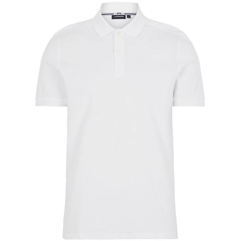 J.Lindeberg - Pikétröja - Troy ST Pique Polo Shirt (0000 White) - Thernlunds
