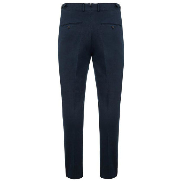 J.Lindeberg - Byxa - Grant-Cotton linen stretch (6855 Navy) - Thernlunds