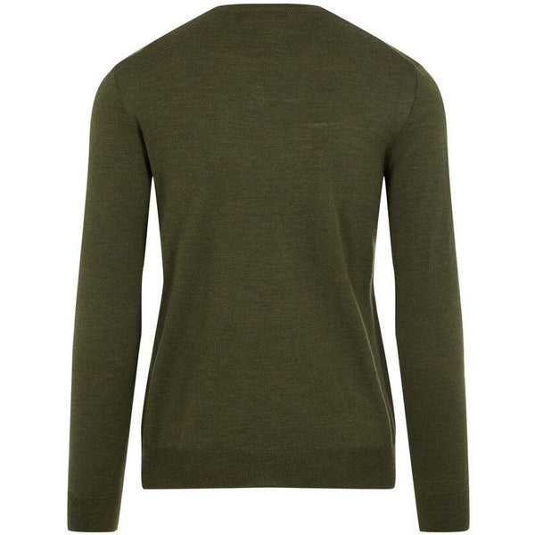 J.Lindeberg - Tröja - Newman Perfect Merino Sweater (M267 Green) - Thernlunds