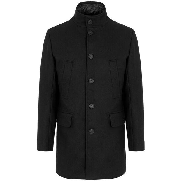 J.Lindeberg - Rock - Kali Wool Coat (9999 Black) - Thernlunds
