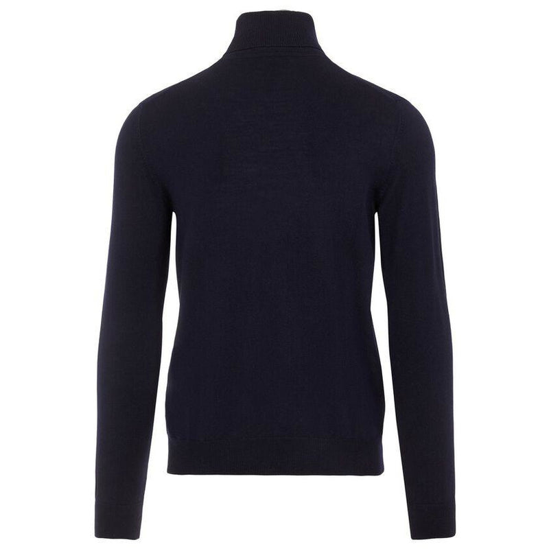 J.Lindeberg - Tröja - Lyd Merino Turtleneck Sweater (6855 Navy) - Thernlunds