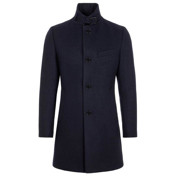 J.Lindeberg - Rock - Holger Compact Melton Coat (6855 Navy) - Thernlunds