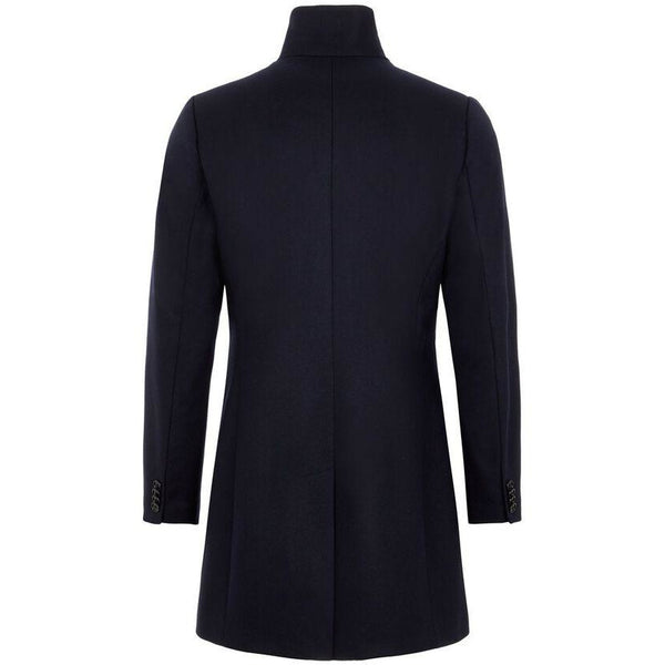 J.Lindeberg - Rock - FMOW02642 Holger Compact Melton Coat (6855 Navy) - Thernlunds