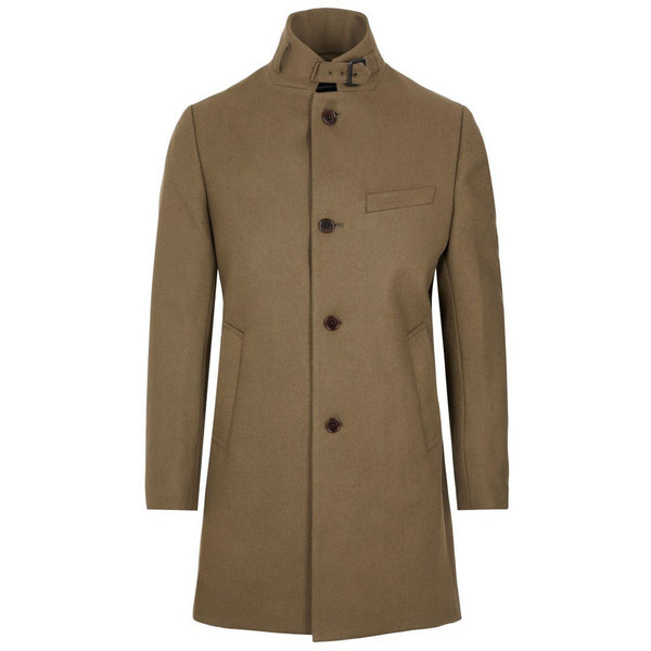 J.Lindeberg - Rock - Holger Compact Melton Coat (E098 Sand) - Thernlunds