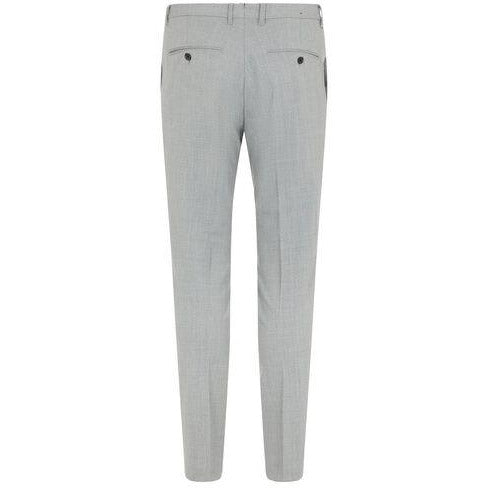 J.Lindeberg - Byxa - Grant Stretch Twill Pants (9351 Lt Grey Melange) - Thernlunds