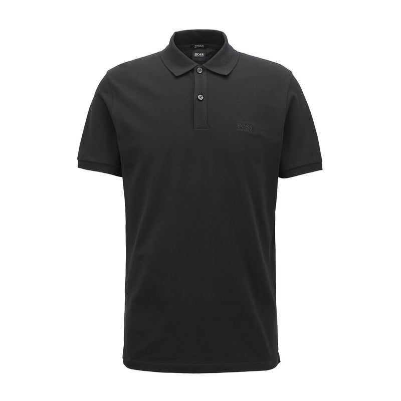 Hugo Boss Business - T-shirt - Pallas Polo (001 Black) - Thernlunds