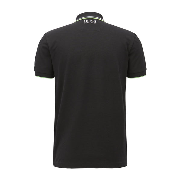 Hugo Boss Business - Pikétröja - Paddy Polo (001 Black) - Thernlunds