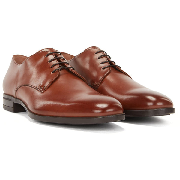 Hugo Boss Business - Skor - Kensington_Derb_bu Shoes (210 Medium Brown) - Thernlunds