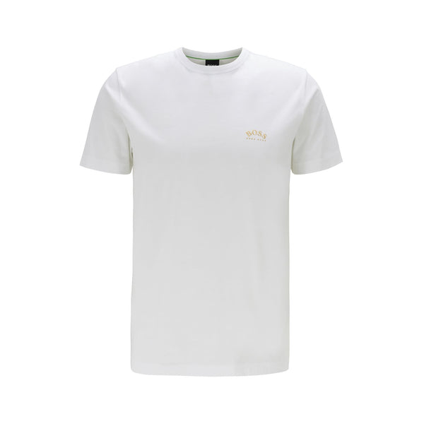 Hugo Boss Athleisure - T-shirt - Tee Curved 10213473 01 (112 Open White) - Thernlunds