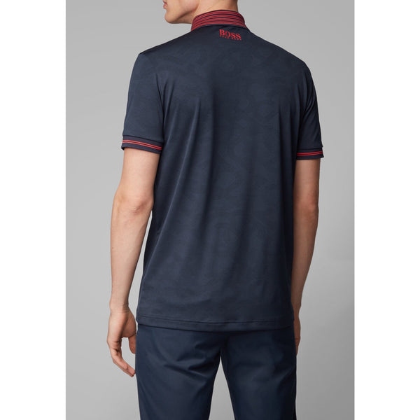 Hugo Boss Athleisure - Pikétröja - Paule Pro 2 10223594 01 (410 Navy) - Thernlunds