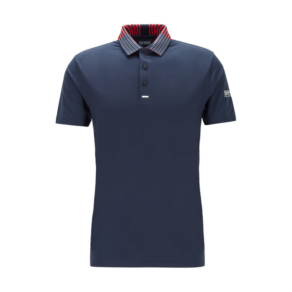 Hugo Boss Athleisure - Pikétröja - Pauletch Pro SL 10208323 01 (410 Navy) - Thernlunds