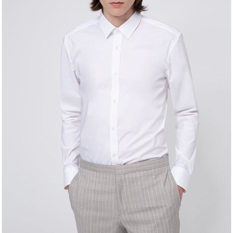 Hugo Boss Business - Skjorta - Elisha02 10224742 01 (199 Open White) - Thernlunds