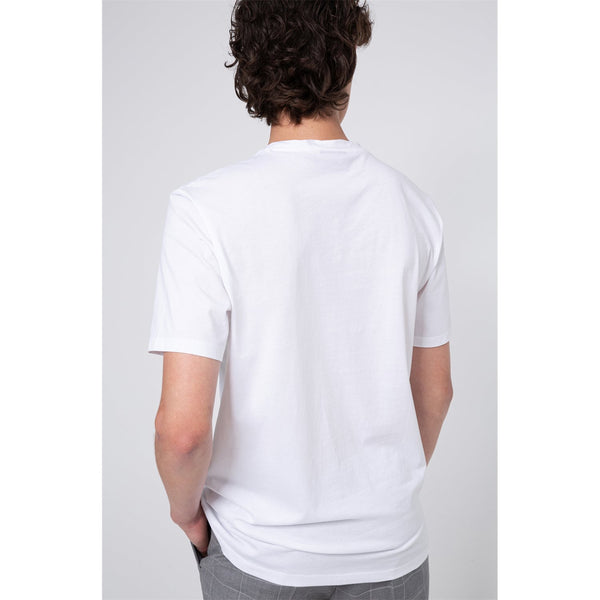HUGO - T-shirt - Dero203 10182493 01 (100 White) - Thernlunds