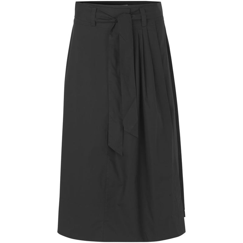 Second Female - Kjol - Phoebe HW Wrap Skirt (8001 Black) - Thernlunds