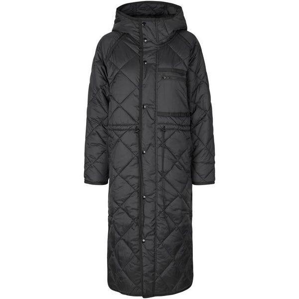 Second Female - Rock - Prudence Coat (8001 Black) - Thernlunds