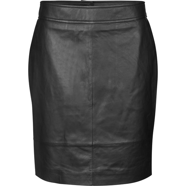 Second Female - Kjol - Francie Mini Leather Skirt - Thernlunds