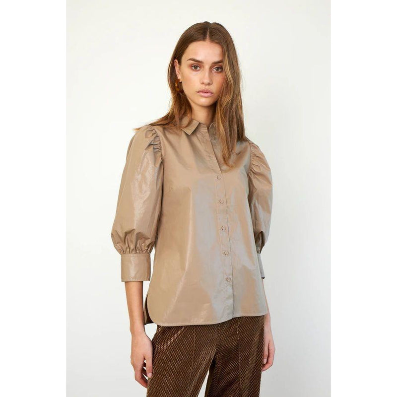 Second Female - Skjorta - Lamour Shirt (6069 Sepia Tint) - Thernlunds