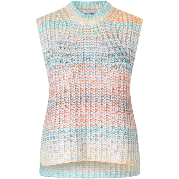 Second Female - Tröja - Elsa Knit Vest - Thernlunds