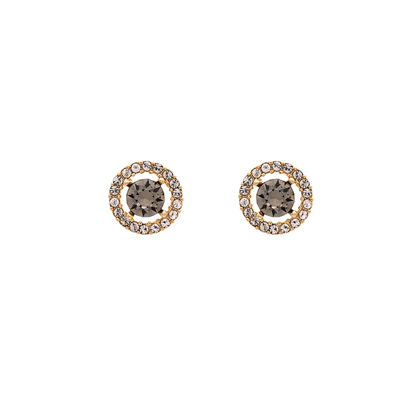 Miss Miranda earrings (Diamond grey)