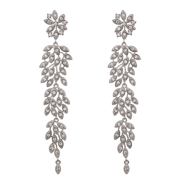 Petite Laurel earrings (CRYSTAL)
