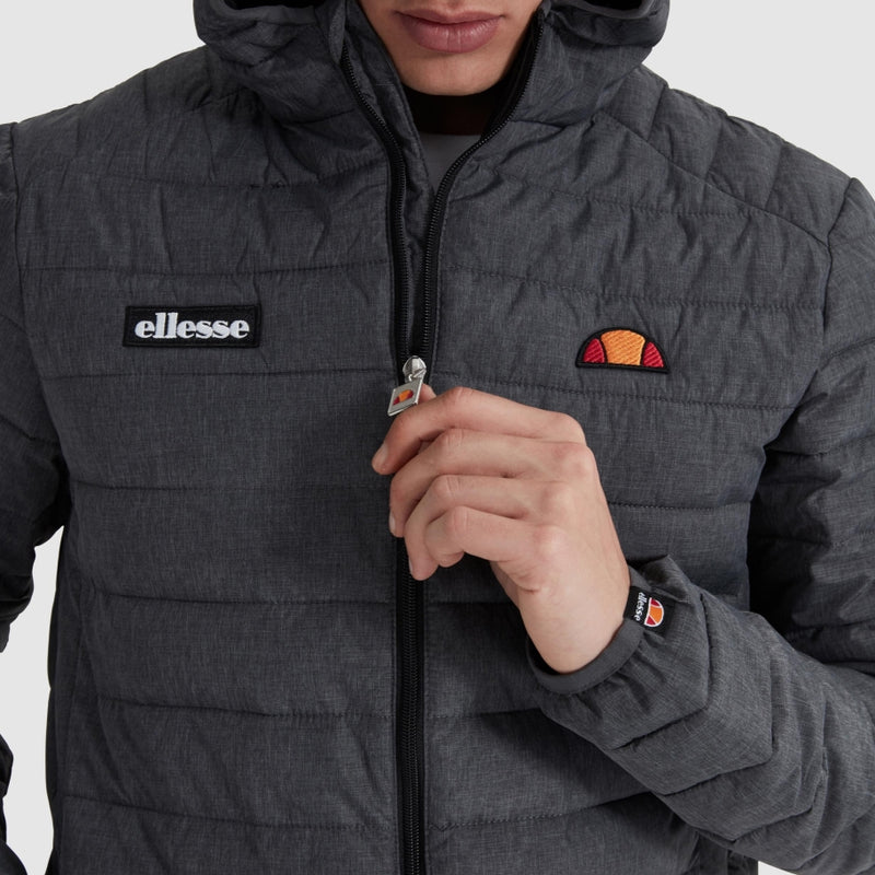 Ellesse - Jacka - SHS01115 Lombardy Padded Jacket (Anthracite) - Thernlunds