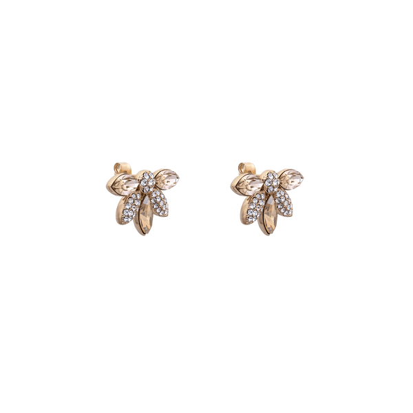 Lucia earrings (CHAMPAGNE)