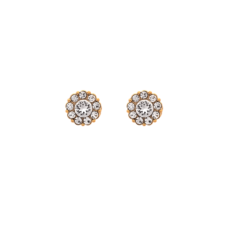 Lily & Rose - Smycken - Petite Miss Sofia earrings (Crystal (Gold)) - Thernlunds