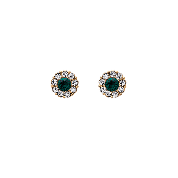 Lily & Rose - Smycken - Petite Miss Sofia earrings (Emerald) - Thernlunds