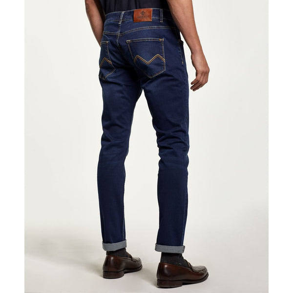 Morris - Jeans - Steve Satin Jeans (63 Dk Wash) - Thernlunds